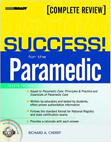 SUCCESS For The Paramedic 4th Edition 9780132385503