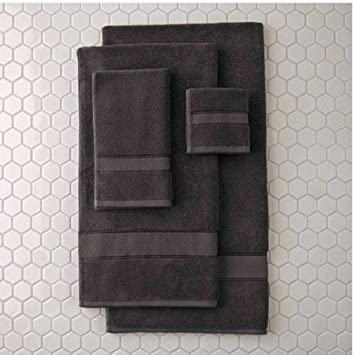 Better Homes And Gardens Thick And Plush Bath Towel Collection  Hand Towel,  Grey Shadow