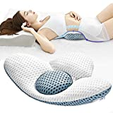 Fcare Lumbar Support Pillow for Sleeping, Height