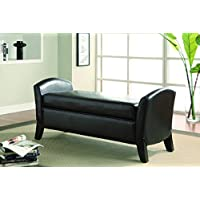 Coaster 500951 Home Furnishings Storage Bench, Dark Brown