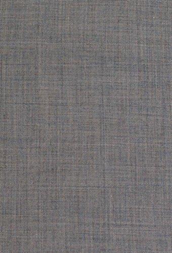 Alberto Cardinali Men's Sharkskin 3-Piece 2 Button Slim-Fit Suit w/ Matching Vest [Color: Light Gray | Size: 50 Regular / 44 Waist] by Alberto Cardinali (Image #7)