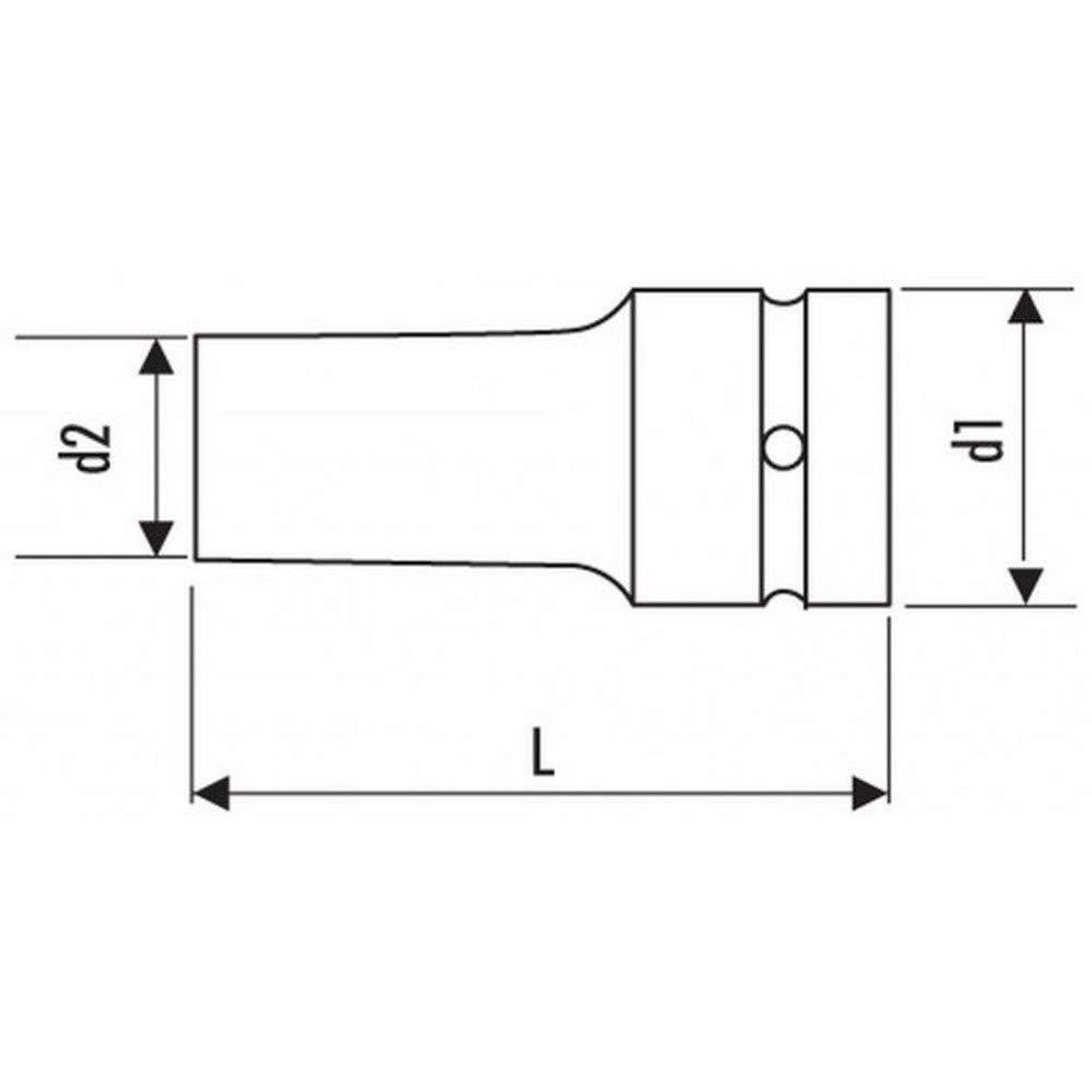 EXPERT E042310 Impact-Steckschlüssel 1 , Metrisch  36mm, Lang Lang Lang B00V68JDX0 | Garantiere Qualität und Quantität  cfa0ba