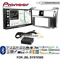Volunteer Audio Pioneer AVIC-W8400NEX Double Din Radio Install Kit with Navigation, Apple CarPlay and Android Auto Fits 2010-2013 Toyota 4Runner with Amplified System