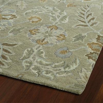 picture of KaleenRugs 3212-59 23 2 x 3 ft. 100 Percent Wool Helena Rectangle Area Rug, Sage