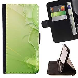 BullDog Case - FOR/Samsung Galaxy Core Prime / - / Nature Beautiful Forrest Green 37 /- Monedero de cuero de la PU Llevar cubierta de la caja con el ID Credit Card Slots Flip funda de cuer