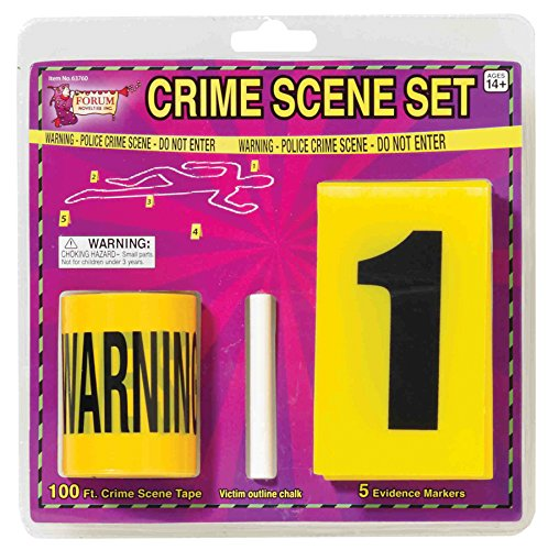 [Forum Novelties Crime Scene Set] (Horror Makeup Value Kit)