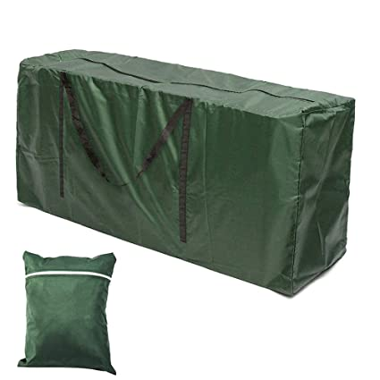 Outstanding Garden Furniture Cushions Storage Bag Large Waterproof Lightweight Outdoor Patio Seat Pads Carry Handbag With Handle For Christmas Tree 173X76X51Cm Download Free Architecture Designs Scobabritishbridgeorg