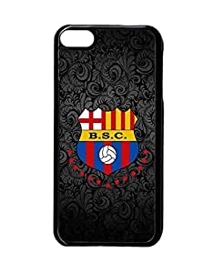 Ipod Touch 6Th Phone Funda Case Hard Cover Heavy Duty Unique Creative Printed Barcelona Futbol Hard Funda Case Slim Drop Protection Scratch-Proof Shell Phone Cover For Ipod Touch 6Th - Mewmewtat