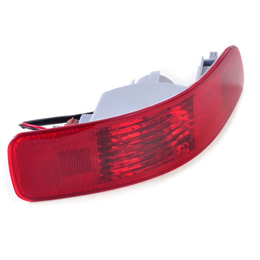 Lidahaotin SL693-LH Left Side Rear Bumper Lamp Plastic Car Accessory Replacement for 07-13 Mitsubishi Outlander