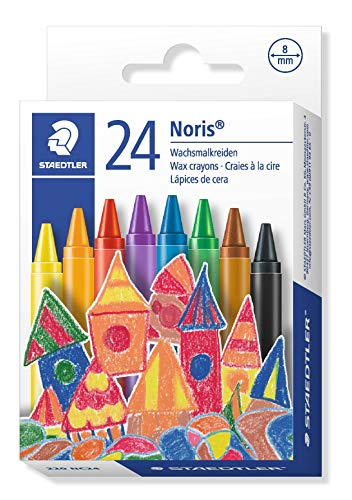 (Staedtler 220 NC24 Noris Club Wax Crayon (Pack of 24))