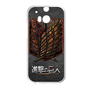 The Cartoon Anime Attack On Titan Cell Phone Case for HTC One M8
