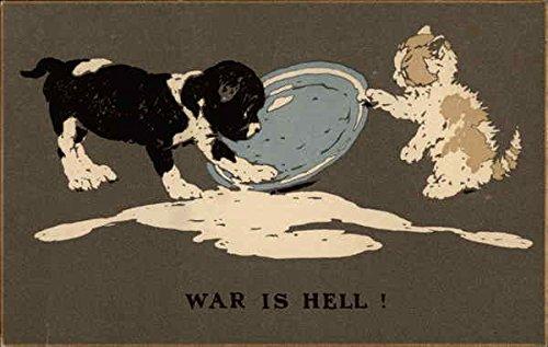 War is Hell! Multiple Animals Original Vintage Postcard