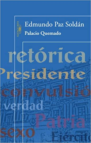 Book Palacio Quemado (Alfaguara)
