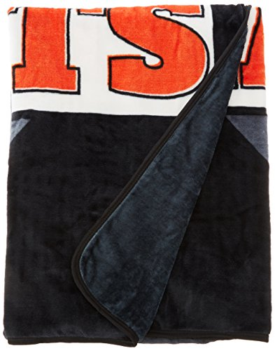 (The Northwest Company MLB San Francisco Giants Royal Plush Raschel Throw, One Size, Multicolor)