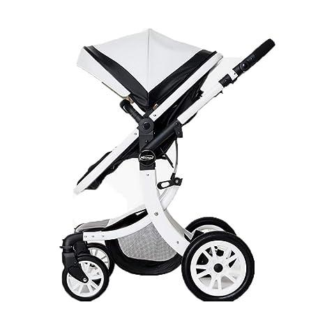 Los cochecitos de bebé pueden sentarse cochecitos de bebé plegables planos, altos plegables, cochecitos