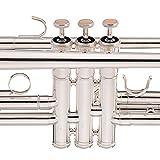 Jean Paul USA Trumpet - Standard, Silver