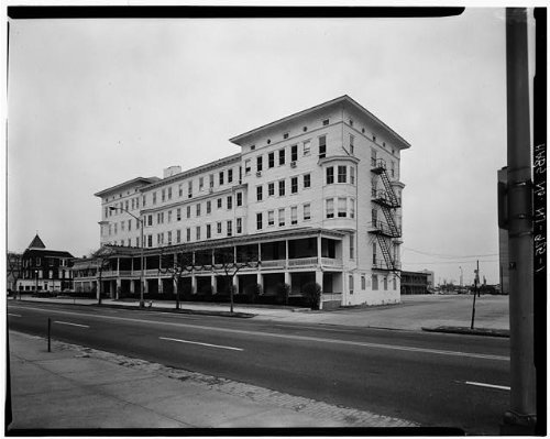 Photo: The Hoffman House, 123-131 Pennsylvania Avenue, Atlantic City, Atlantic County, NJ . Size: 8x