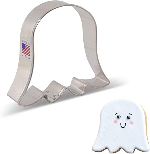 """1/"""" Deep Child Ghost Cookie Cutter 2/""""//3/""""//4/""""//5/"""" Size"""