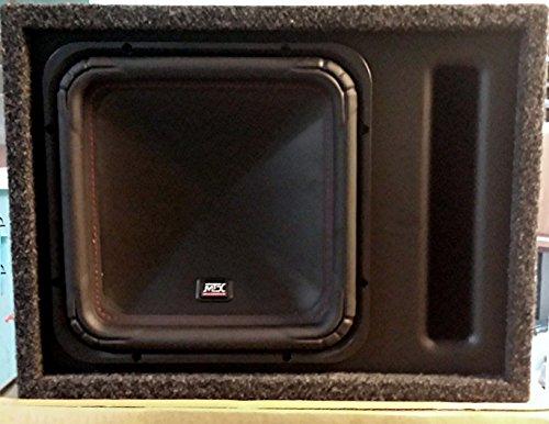 "MTX S65 500 Watt RMS 12"" Square Sub & Vented Enclosure Combo"