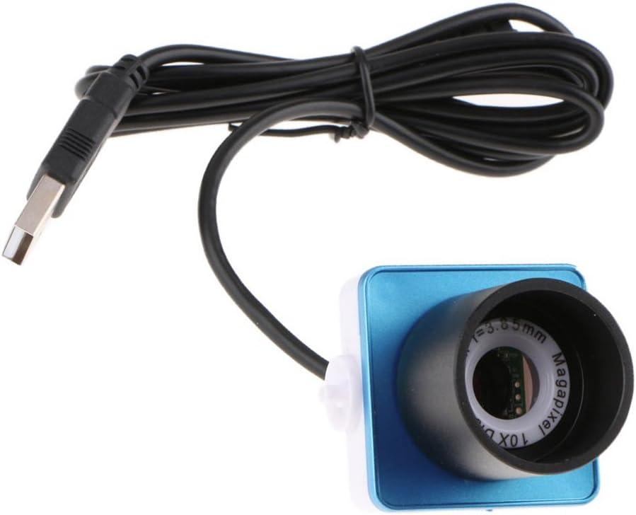 Telescope Digital Eyepiece Lens 0.8MP F//3.85mm Composite Video Port USB 2.0