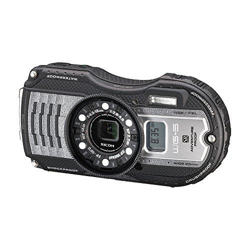 RICOH waterproof digital camera WG-5GPS gunmetal waterproof 14m withstand shock 2.2m cold -10 degrees 04651 by Ricoh (Image #5)