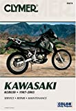 img - for Kawasaki Klr650: 1987-2003 (Clymer Motorcycle Repair) book / textbook / text book