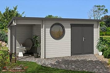 Gartenhaus Fußboden Nageln Oder Schrauben ~ Modernes holz gartenhaus mit boden maria rondo geräteschuppen
