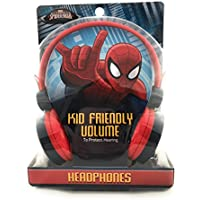 MARVEL Ultimate Spiderman Kid Friendly Volume Headphones