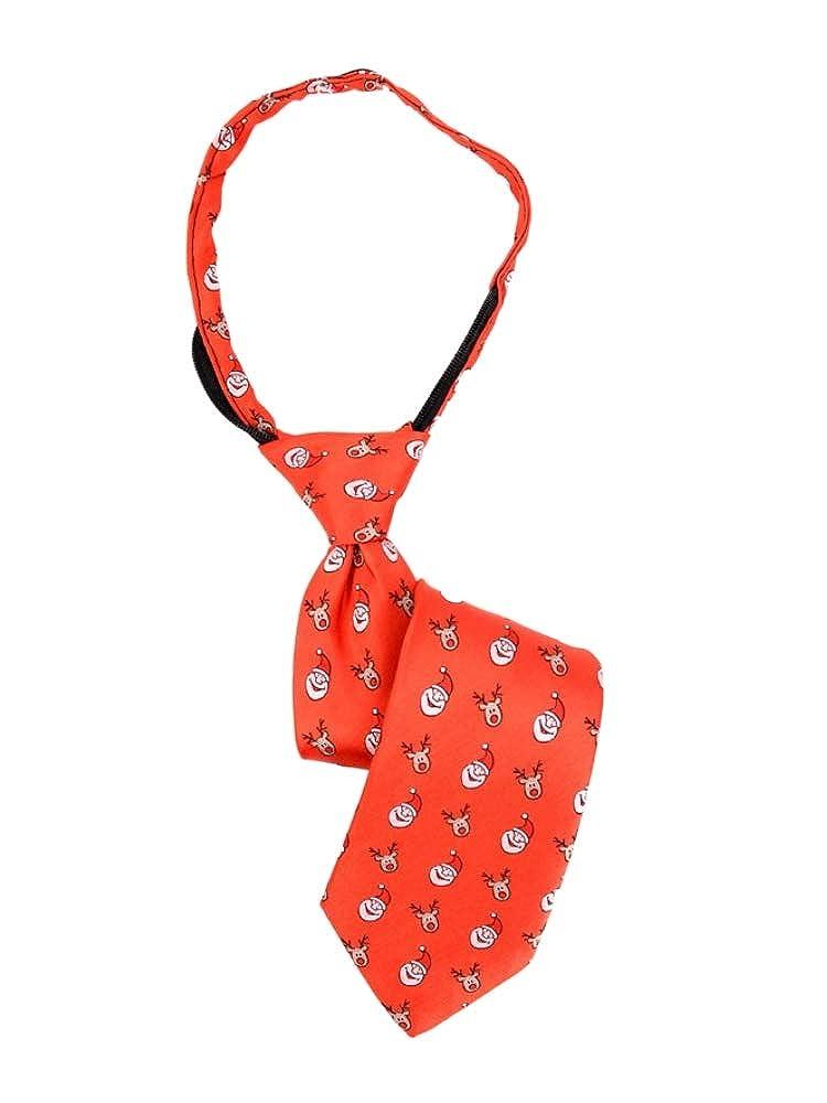Parquet 14 Boys Christmas Zipper Tie