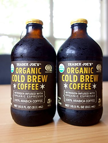 Trader Joe's Organic Cold Brew Coffee Nitrogen-Infused
