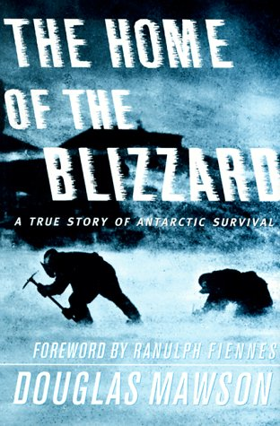 Book cover for The Home of the Blizzard