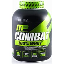 MusclePharm Combat 100% Whey Protein Powder, Vanilla, 5 Pound