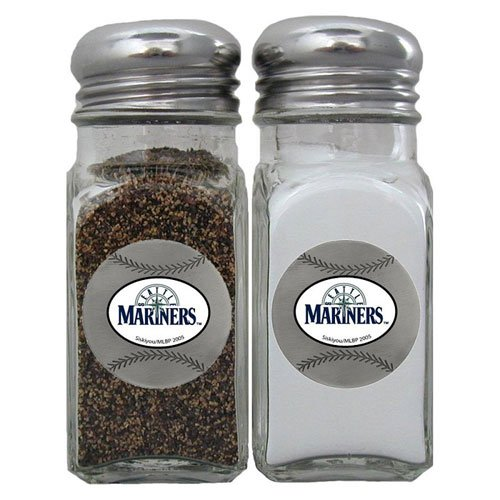 MLB Seattle Mariners Salt & Pepper Shakers