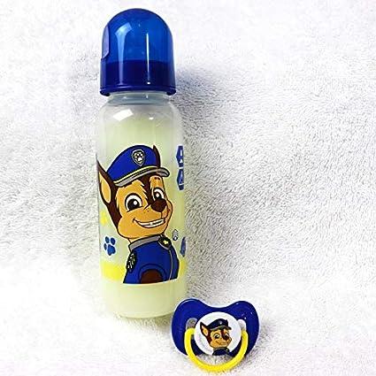 *1* Faux Fake Formula ONE Bottle N Pacifier Set U-Pick Color Reborn Baby Doll