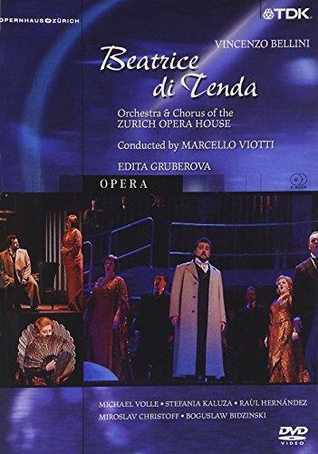 Bellini - Beatrice di Tenda / Daniel Schmid - Gruberova, Volle, Kaluza - Viotti - Zurich Opera from TDK DVD Video