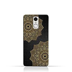 AMC Design Vintage Mandala 1201 Printed Case for Huawei Enjoy 6 - Black & Yellow