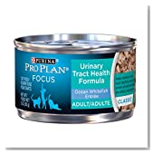 Purina Pro Plan Focus Adult Urinary Tract Health Formula Ocean Whitefish Entree Cat Food (24 Pack), 3 oz
