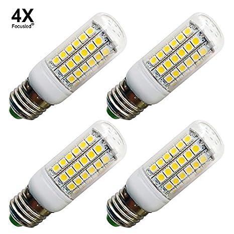Focusled E27 6.5 Watt Bombilla LEDs 69 SMD 5050 Foco Spotlight ...