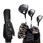 Putter-Golf-Club-Golf-Set-completo-di-golf-professionale-Game-Club-Polo-Oro-Uomo-con-il-sacchetto-Black-Ball-nero-asta-con-il-sacchetto-Black-Ball-Set-di-mazze-da-golf-Colore-Black-Size-11
