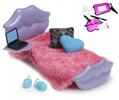 - Bratz Deluxe Sleepover Bed Set with Luggage Tag Kit and Pouch