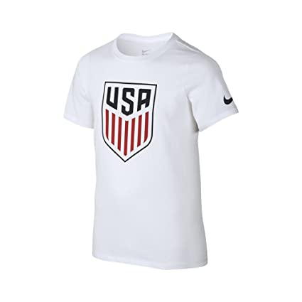 59bbe0c166f Image Unavailable. Image not available for. Color  Nike Youth USA Crest T- Shirt ...