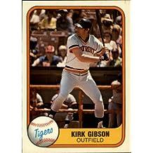 1981 Fleer Baseball Rookie Card #481 Kirk Gibson Near Mint/Mint