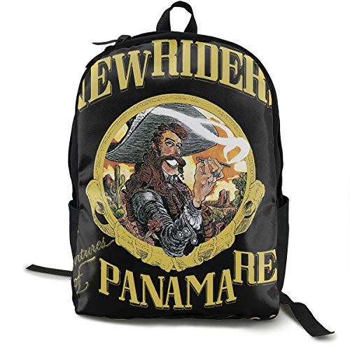 (Backpack, Travel Hiking New Riders Of The Purple Sage The Adventures Of Panama Red Backpacks Lightweight Mens Womens Unisex Computer Gaming Laptop Shoulder Bag Outdoor Backpacks For Men Women Adults )