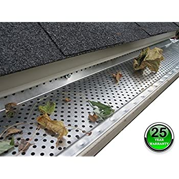 Flexxpoint 30 Year Gutter Cover System White Commercial 6