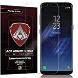 galaxy ace 2 screen protector - Ace Armor Shield ProTek Guard (2 PACK) CASE FRIENDLY Screen Protector for the Samsung Galaxy S8 with free lifetime Replacement warranty