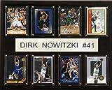 NBA Dirk Nowitzki Dallas Mavericks 8 Card Plaque