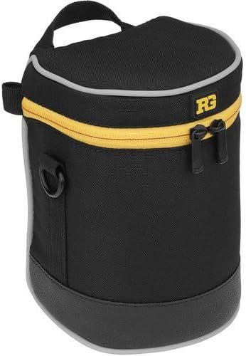 Ruggard Lens Case 12.0 x 5.0 Black 2 Pack