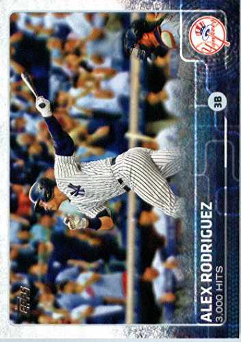 2015 Topps Update #US33 Alex Rodriguez Baseball Card -
