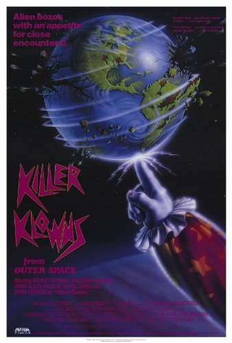 Killer Klowns From Outer Space POSTER Movie (27 x 40 Inches - 69cm x 102cm) (1988)]()