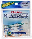 Plackers Interdental Brushes, 10 count (Pack of 72)